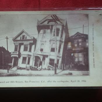 Post-San Francisco Earthquake Postcard - Postcards