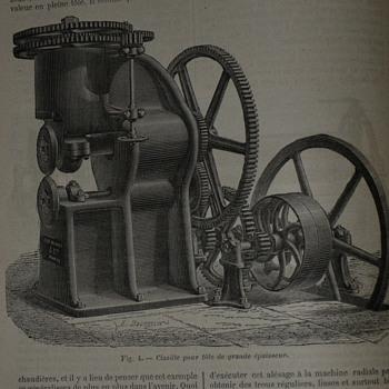 Ex libris A. Koltchak, Paris, 1900: Dictionaire, Encyclopedique et Biographique de L'Industrie et Des Arts Industriels