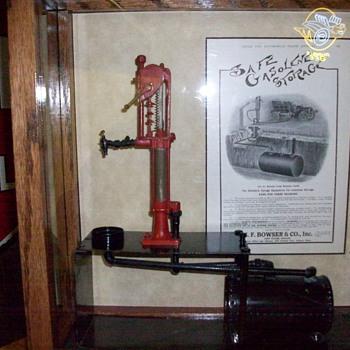 1903 Bowser Gas Pump Salesman Sample - Petroliana
