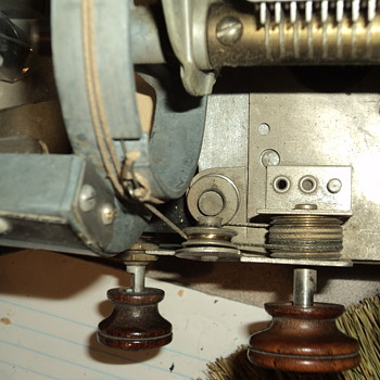 Tuning capacitor for a Westinghouse  radio , model 80. - Radios