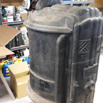 Just arrived wood stove.  - Kitchen