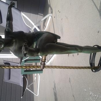 Bronze Lamp 1930's
