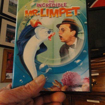 dvd the incredible  MR.LIMPET