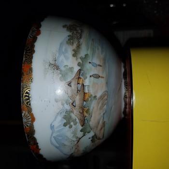 Satsuma bowl identification.   - Asian