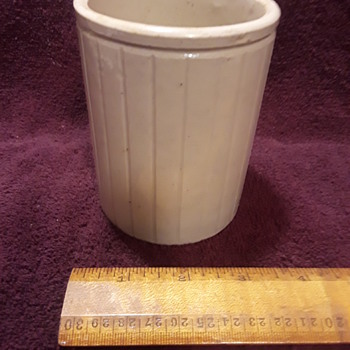 small Wm. P Hartley's crock  - Pottery