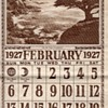 """ON THE COAST OF CALIFORNIA""1927 CALENDAR"