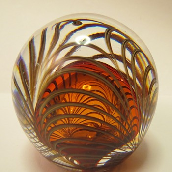 Adrian Sankey Paperweight - Art Glass