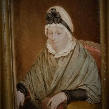 Painting On Ivory Of Magdalene Dorothea Phillips (1750-1824) By Henrietta Eccleston Of Termonfekin Louth County Ireland  - Fine Art