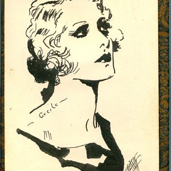 1932 Sketch Book  - Paper