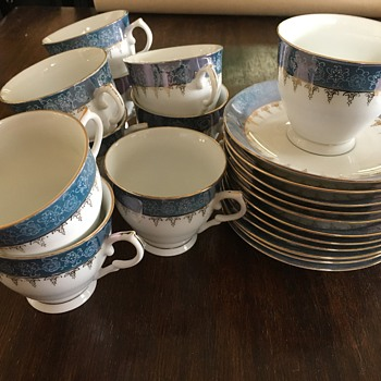 "Teacup/saucers marked ""China"" not Made in China  - China and Dinnerware"