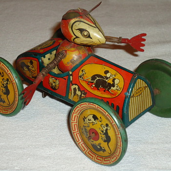ONE OF MY FAVOURITE EARLY MICKEY MOUSE TOY - Model Cars