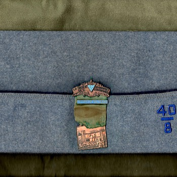 Forty & Eight Cap and Medal - Military and Wartime