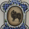 Micro Mosaic Frame With Original Photo Of Dog