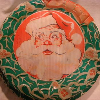 Vintage Lighted Christmas Decoration - Christmas