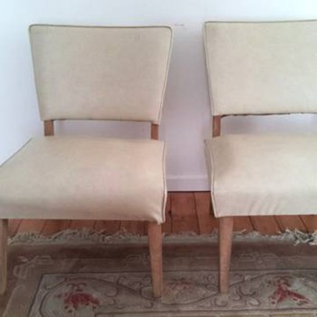 Found these Naugahyde chairs, did I get a deal?? - Furniture