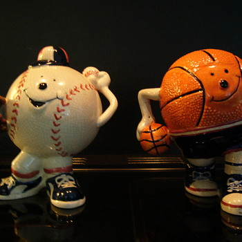 Baseball & Basketball money box