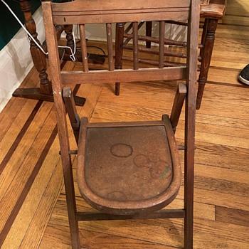 Antique child's chair  - Furniture