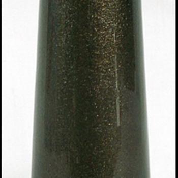 HARRACH or RIEDEL ???  ADVENTURINE GLASS VASE - Art Glass