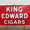 King Edward Cigars Porcelain Sign