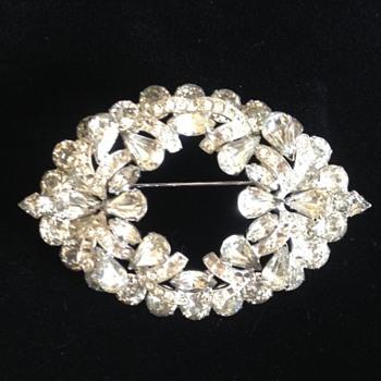 Large Eisenberg Brooch - Costume Jewelry