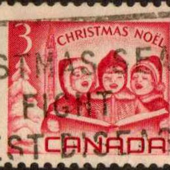 "1967 - Canada ""Christmas"" Postage Stamps - Stamps"