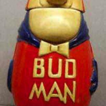 1975 Budman Beer Stein - Breweriana
