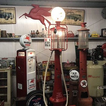 1923 (Fry 117) 10 gallon pump Update. AKA Mae West - Petroliana