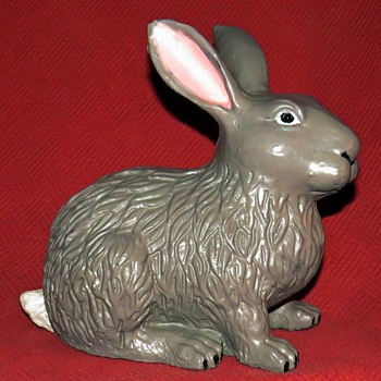 Cast Iron Cottontail Rabbit - Animals