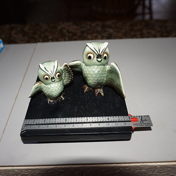 Owl Salt & Pepper Shakers - Animals