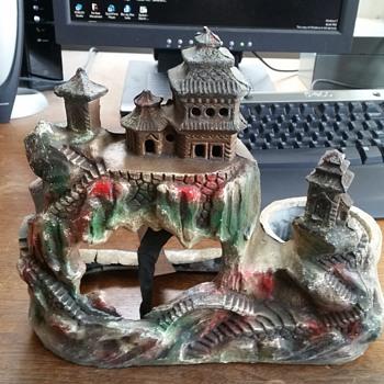 Antique Asian Lamp. - Asian