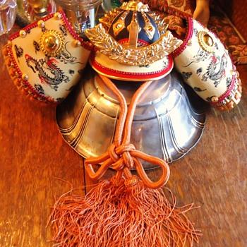 Japanese Samurai Hat? Gift for adopted son Simon Shogun Samurai!