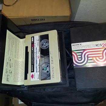 SONY U-MATIC tapes - Electronics