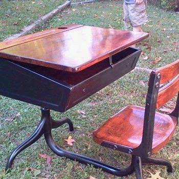 desk i restored..