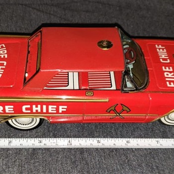 Ford Fire Chief S 283 - Model Cars