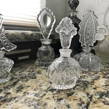 Mom's Perfume Bottles