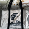 1973 National Women's Political Caucus Convention Tote Bag w. Susan B Anthony