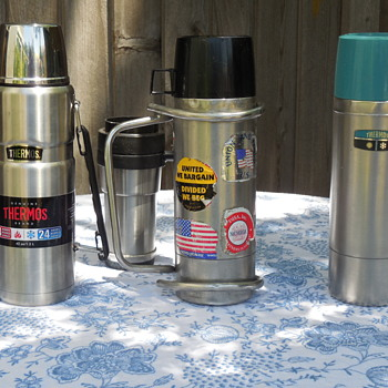 Forced Into Retirement At Only 48 Years Old The Life Of A Stainless Steel Thermos 1 Quart Bottle - Kitchen