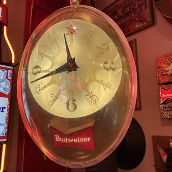 Bubble clock 3D - Breweriana