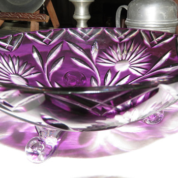 Moser Bohemian Glass?