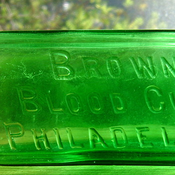 BROWN'S BLOOD CURE, PHILADELPHIA