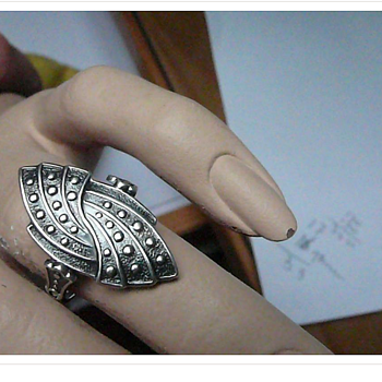 Russian Silver Ring - Fine Jewelry
