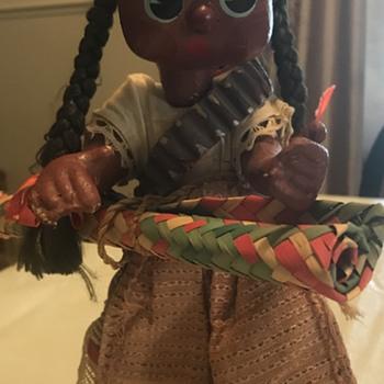 Handmade Indian doll - Dolls