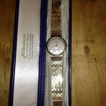 JW Benson Gents Wristwatch - Wristwatches