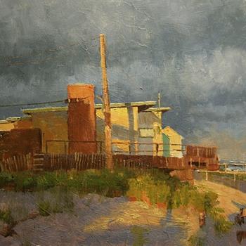 Bruce Bachem plein aire paintings - Fine Art