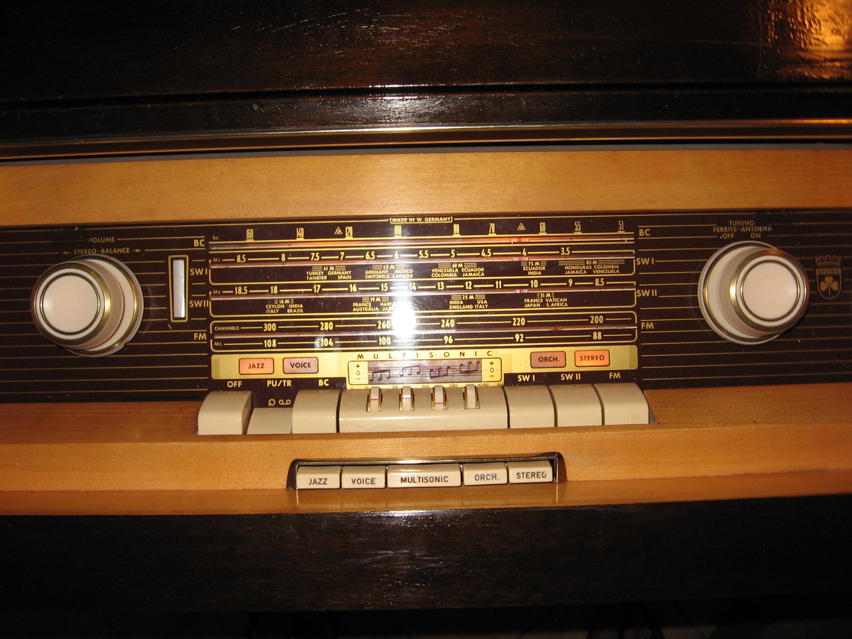 1959 Grundig So162 Stereo Console Collectors Weekly