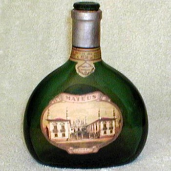 1950's - Mateus Sogrape Wine Bottle - Bottles