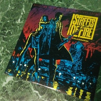 Soundtrack Week...#8...'Streets Of Fire'..On 33 1/3 RPM Vinyl - Records