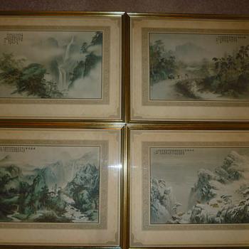 1930's Japanese Season prints ?
