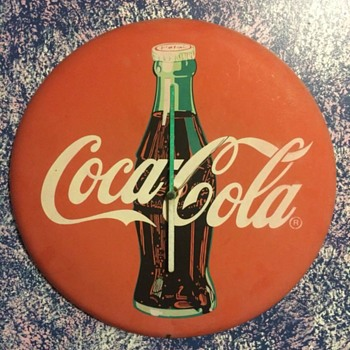 Coca-Cola Clock - Coca-Cola