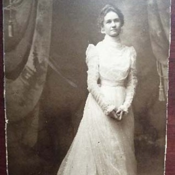 Antique Bridal Photo - Photographs